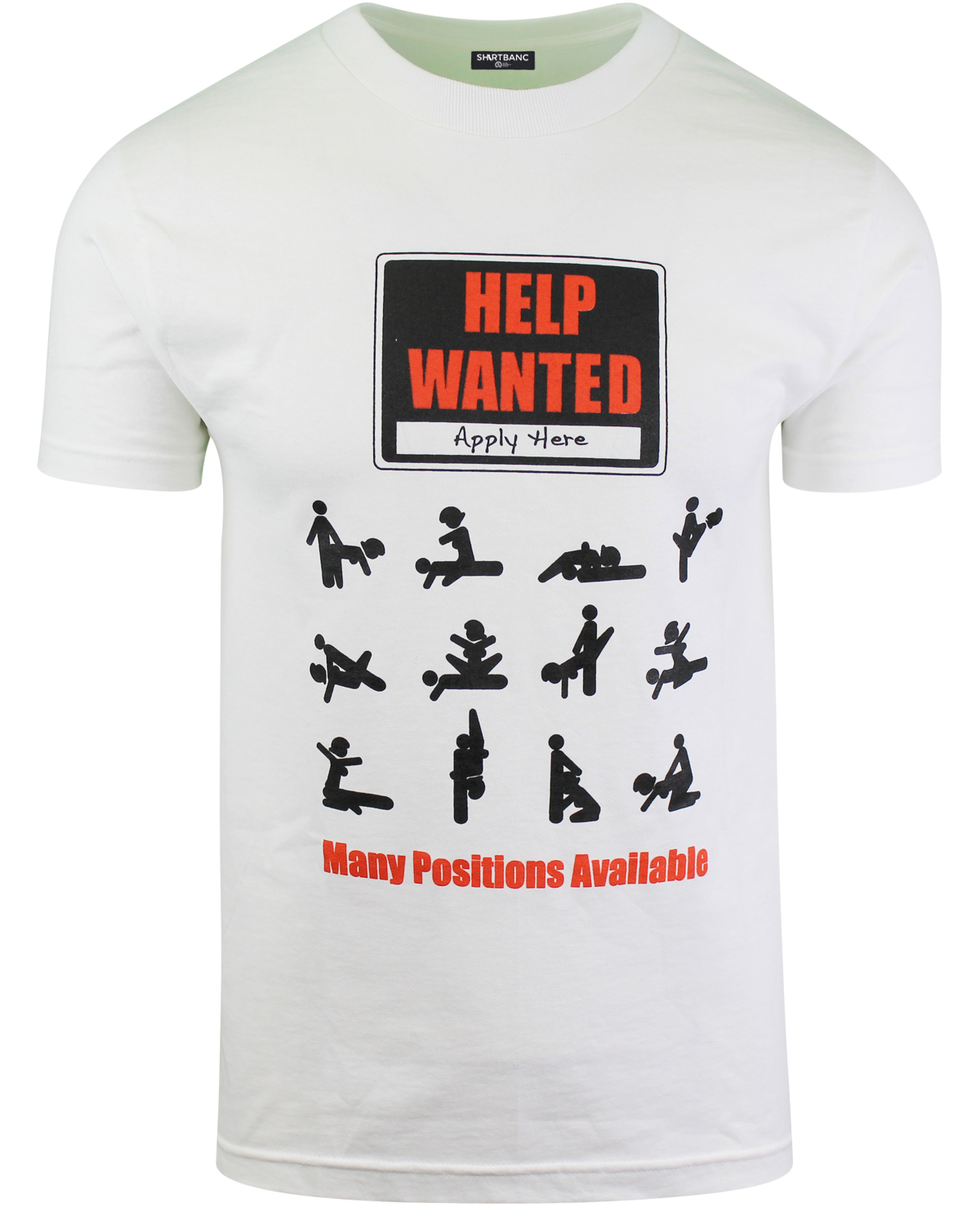Help wanted funny mens t shirts comedy sex tees many How to sell shirts